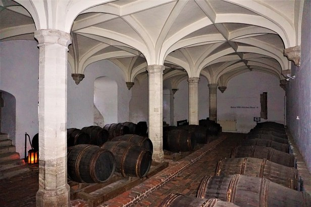 Henry VIII's Wine Cellar - Hampton Court Palace - Joy of Museums