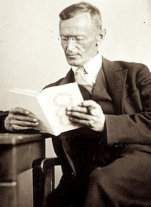 Hermann Hesse, photographed this year