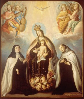 File:Juan Rodríguez Juárez - The Virgin of the Carmen with Saint Theresa and Saint John of the Cross - Google Art Project.jpg