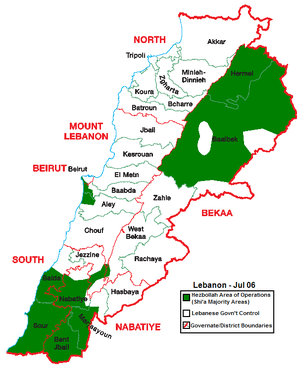Lebanon Jul -06