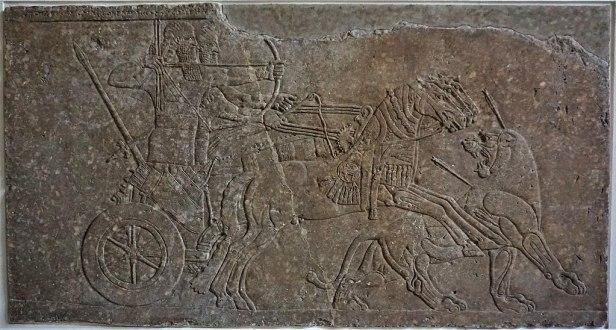 Lion Hunt Relief from Nimrud - Pergamon Museum