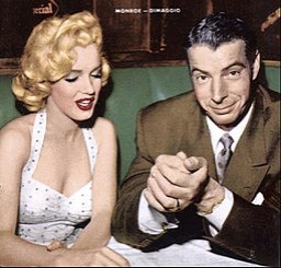 Marilyn Monroe Joe DiMaggio January 1954