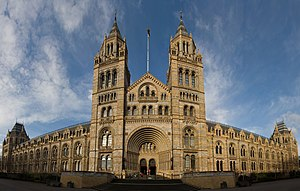 The Natural History Museum. This is a panorama...