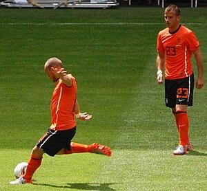 Wesley Sneijder & Rafael van der Vaart