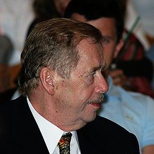 Václav Havel at Karlovy Vary internation Film ...
