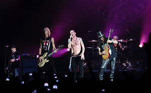 English: Velvet Revolver playing live