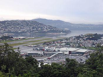 English: Wellington Airport, New Zealand.