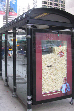 English: Chicago Transit Authority 3D Bus Stop...