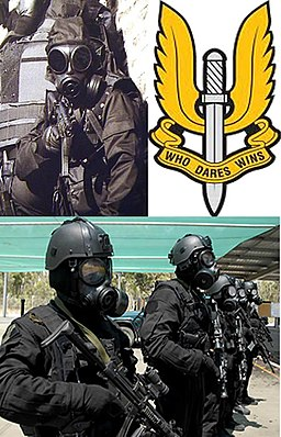 BRITISH SAS ARMED FORCES POSTER