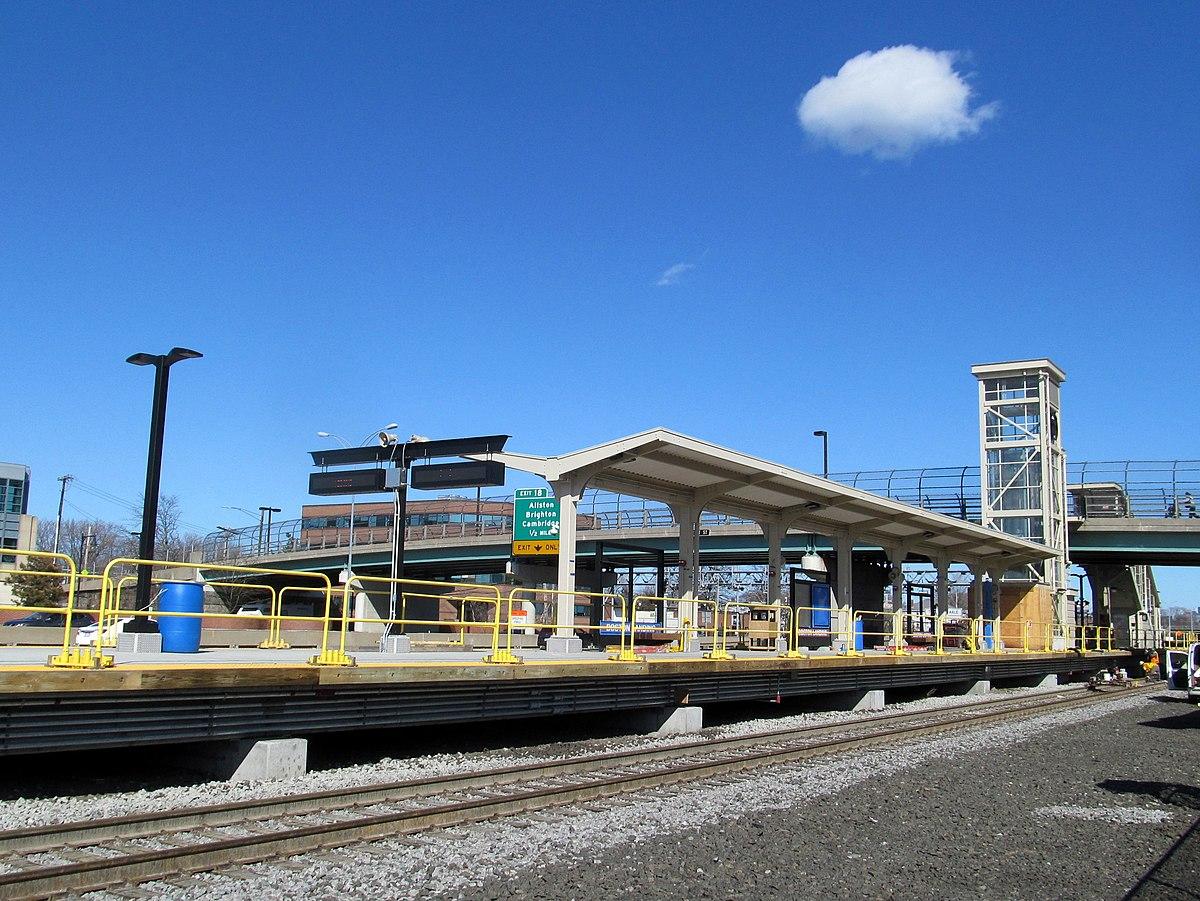 South Mbta Rail Commuter Station