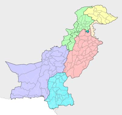قائمة مدن باكستان ويكيبيديا