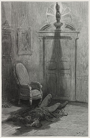 "Illustration for Edgar Allan Poe's ""The R..."