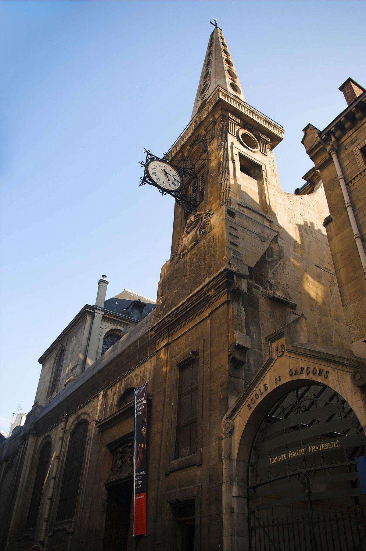 En L'église Ou à L'église : l'église, Église, Saint-Louis-en-l'Île, Wikipédia