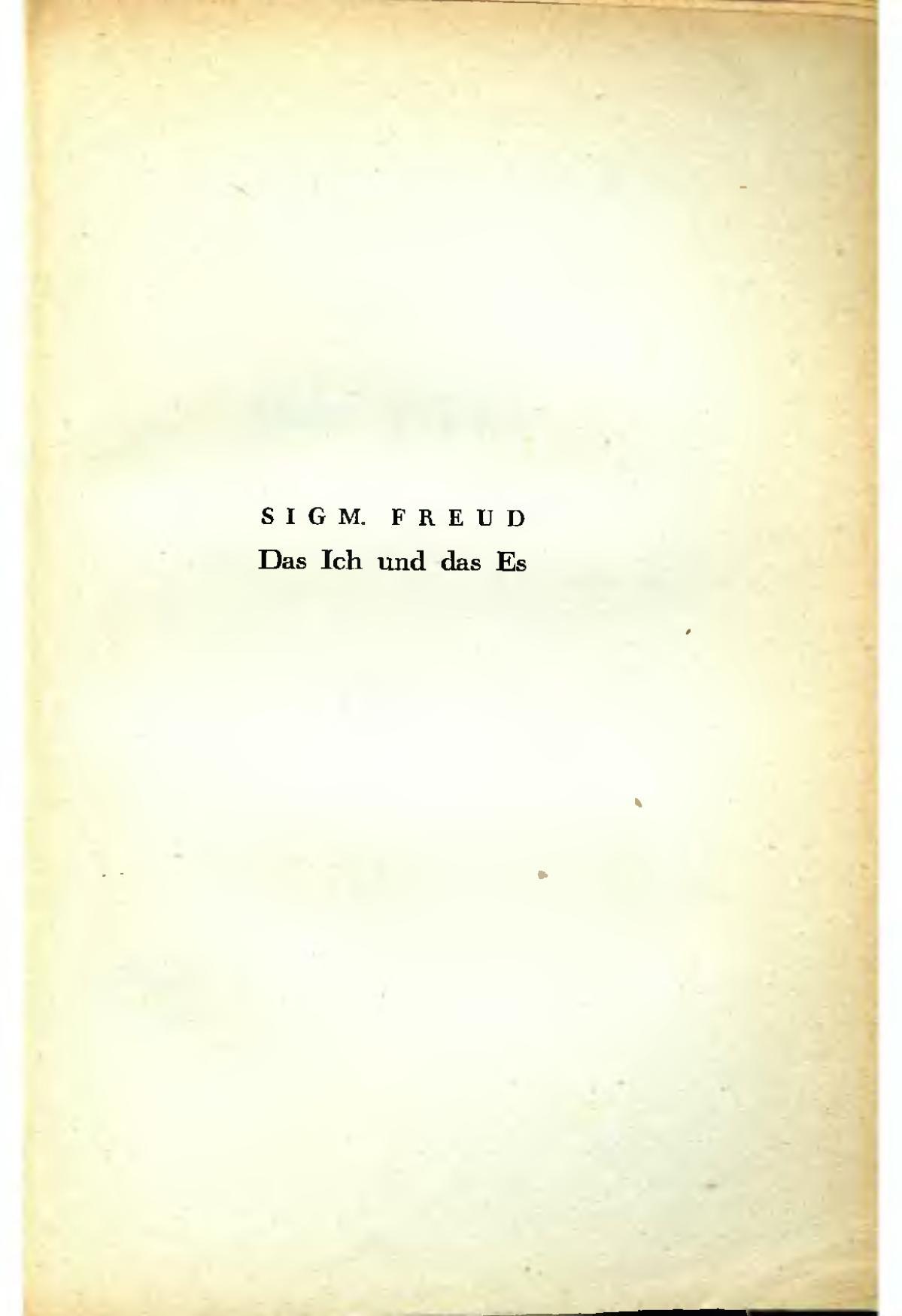 Freud Le Moi Et Le ça : freud, Wikipédia