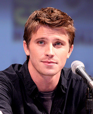 Garrett Hedlund at the 2010 Comic Con in San Diego