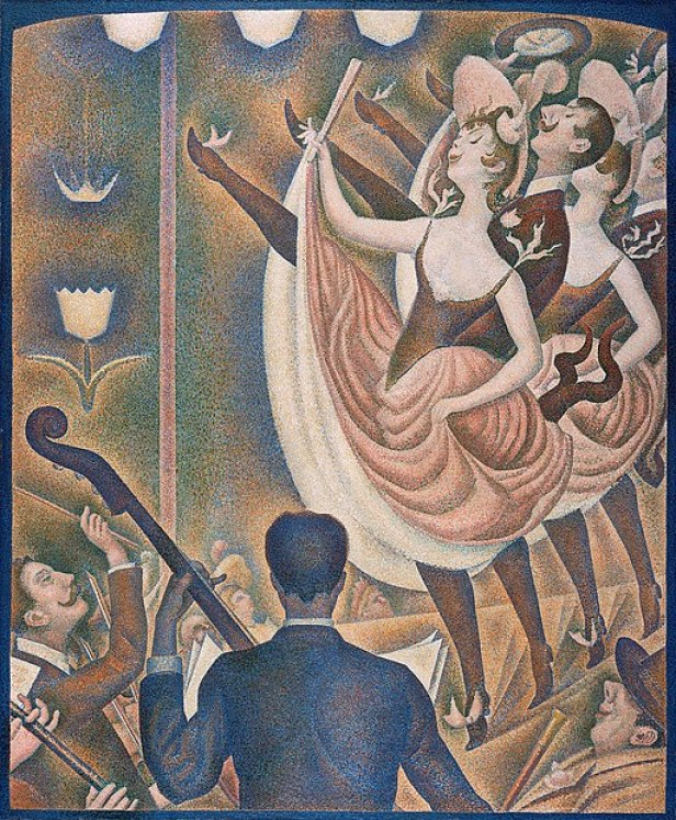 """""""Le Chahut"""" by Georges Seurat"""