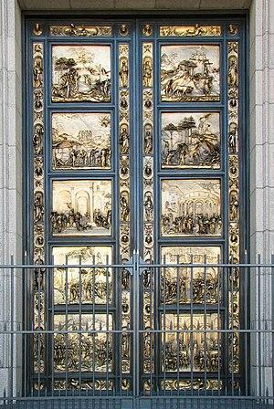 Ghiberti doors, Grace Cathedral, San Francisco...