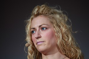 Game designer and author Jane McGonigal at Mee...