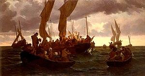 Messe en mer