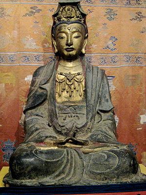 Bodhisattva sculpture, Ming dynasty, China
