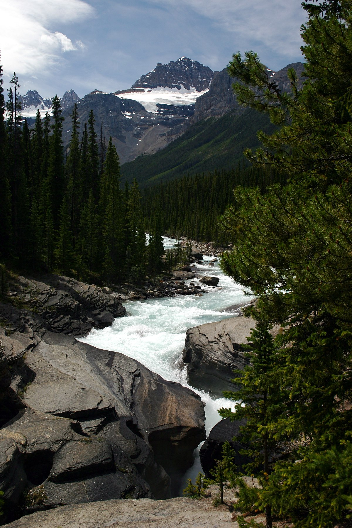 Mistaya Canyon  Wikipedia