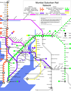 Mumbai suburban railway network map also list of stations wikipedia rh enpedia