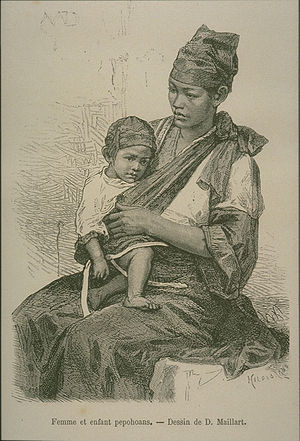 Pepohoan Mother and Child