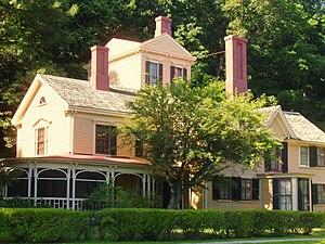 English: The Wayside, Concord, Massachusetts. ...