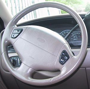 1999-2000 Ford Windstar Steering Wheel