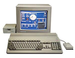 Commodore Amiga 500, 16-bit computer (1987)