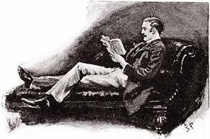 Illustration of the Sherlock Holmes short stor...