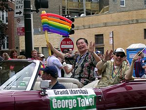 George Takei on the Chicago Gay and Lesbian Pr...