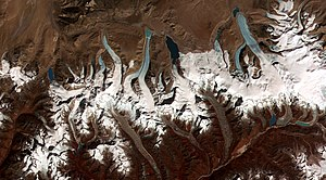 This NASA image shows the formation of numerou...