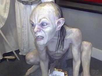 English: Gollum sculpture at Wax Museum in Mex...