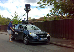 Google Street View Car in Southampton, Hampshi...
