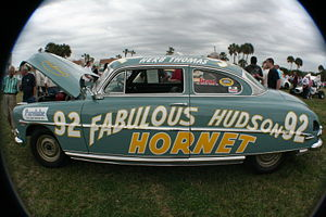 Herb Thomas Fabulous Hudson Hornet. Shot by &q...
