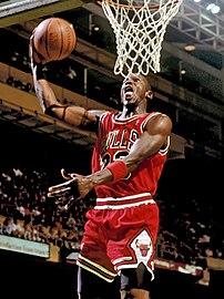 Former basketball player Michael Jordan