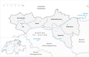 Bezirk Wil