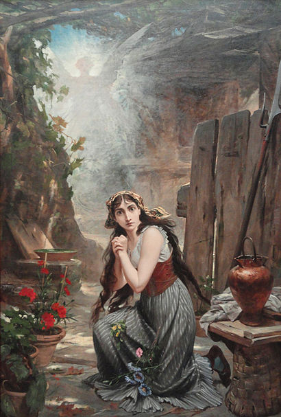 Ficheiro:Pedro Américo - Joana d'Arc ouve pela primeira vez a voz etc - 1884.jpg