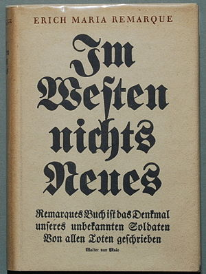 Remarque, Erich Maria: Im Westen nichts Neues....