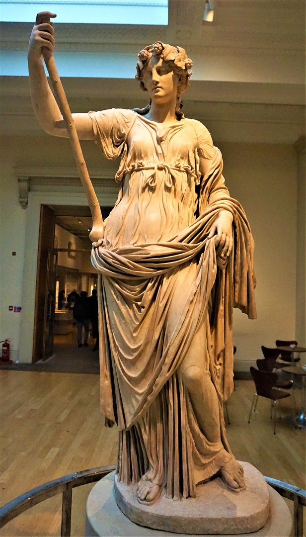 Thalia, Muse of Comedy - British Museum - Joy of Museums