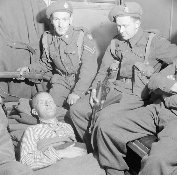 File:The Arrest of William Joyce ('lord Haw Haw') in Germany, May 1945 BU6911.jpg