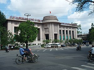 Headquarter of Vietnam National Bank.