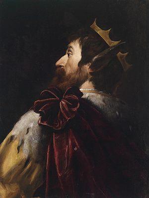Deutsch: König Midas, Öl auf Leinwand, 71 x 54 cm
