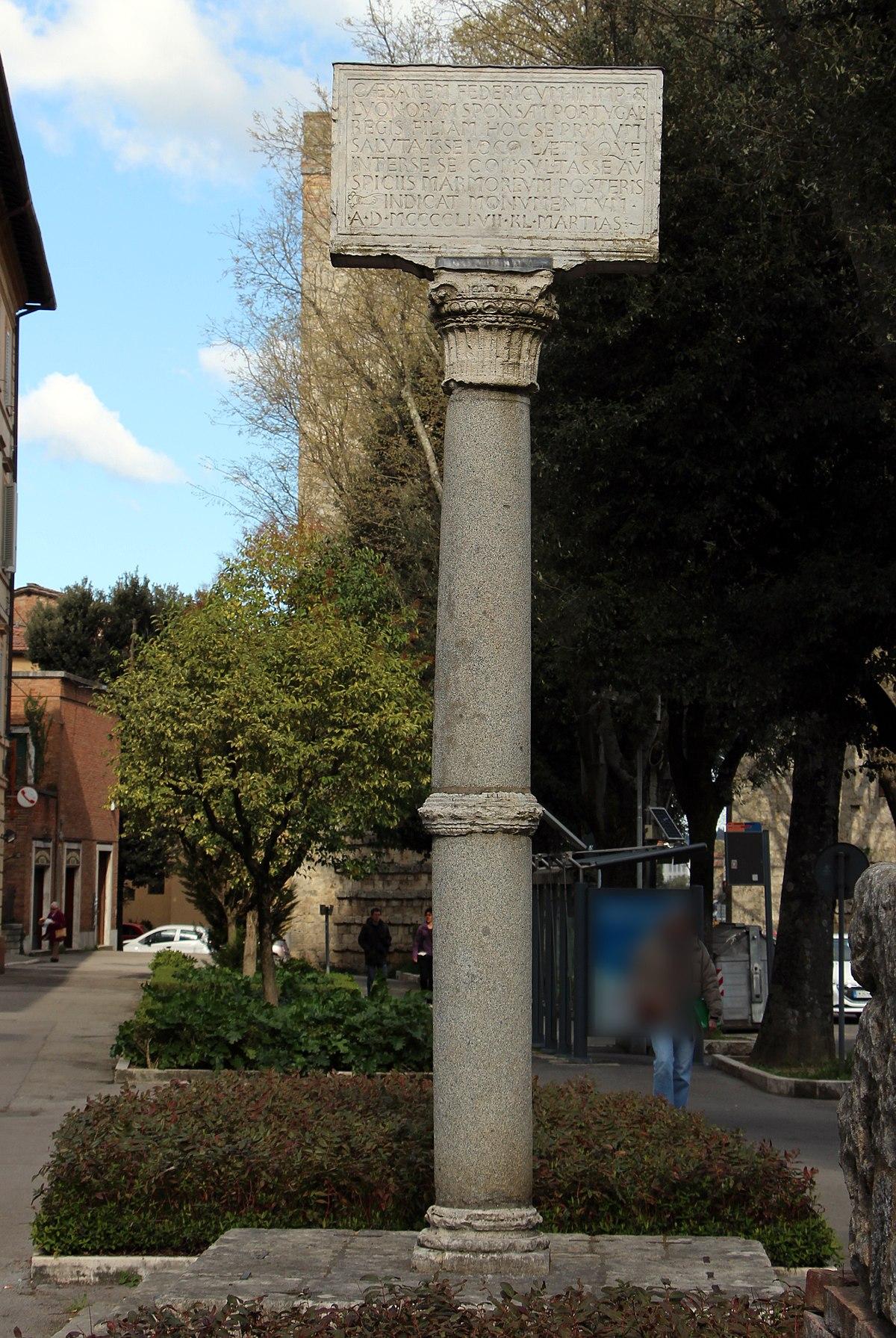 Colonna del Portogallo  Wikipedia