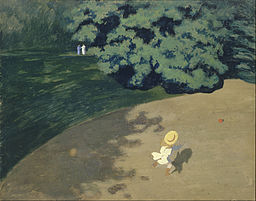 Félix Vallotton - The Ball - Google Art Project