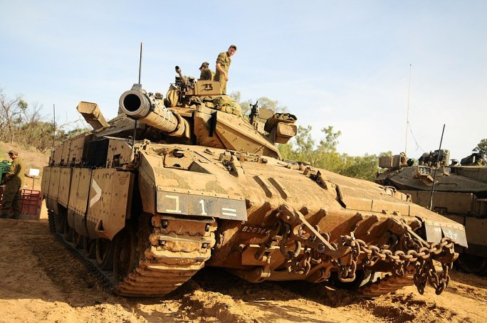 Flickr - Israel Defense Forces - IDF Forces in Staging Areas Around Gaza Strip (1)