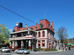 Grand Hotel at Healesville, Victoria