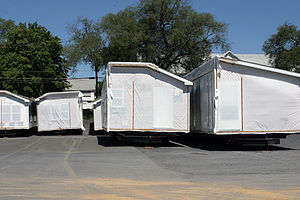 English: Manufactured home built and ready for...