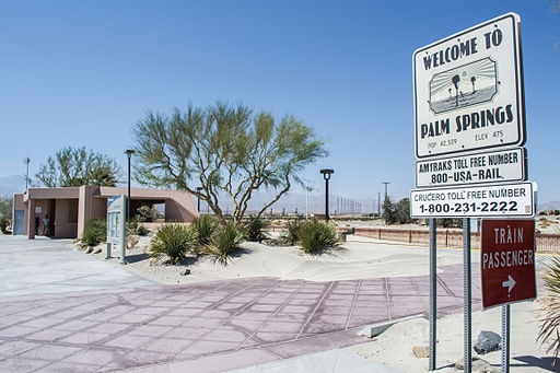 Palm Springs Amtrak Station